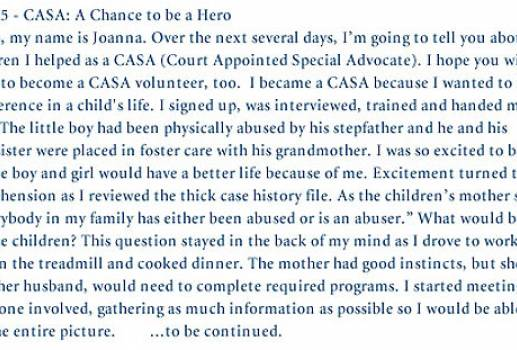 Court Appointed Special Advocates (CASA) of Lane County E-mail